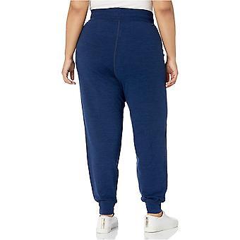 Essentials Damski Plus Rozmiar Szczotkowane Tech Stretch Jogger Spodnie
