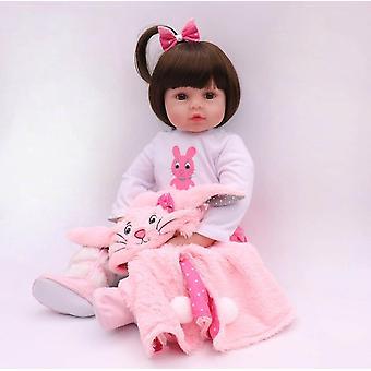 47Cm silikone genfødt super baby naturtro lille barn baby bonecas kid dukke bebes genfødt brinquedos genfødt legetøj til børn gaver