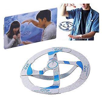 Mid Air Flying Disk Suspenderad Luft flytande fly tefat Magisk leksak för barn