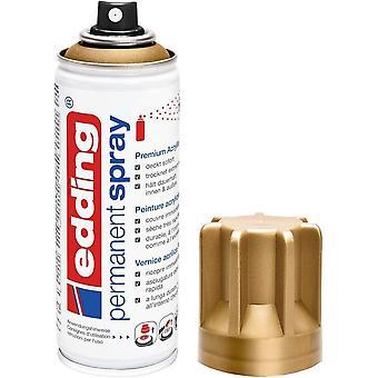 5200 Permanent-Spray - reich-gold matt - 200 ml - Acryllack zum Lackieren und Dekorieren von Glas,