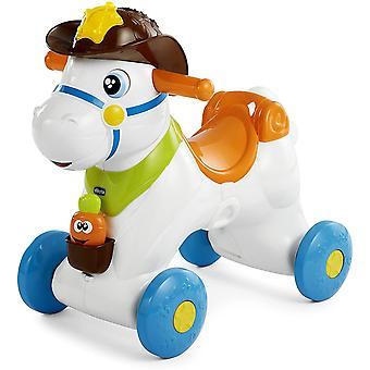 Schaukelpferd für Kinder Baby Rodeo, Lernspielzeug und Interaktives Kinderspielzeug, Rutscher für