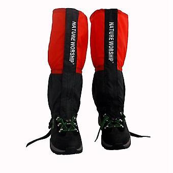 1 Pair waterproof outdoor hiking walking climbing hunting snow legging gaiters ski gaiters men women leg warmers