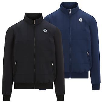 Original Penguin Mens 2021 Isolerade zippade fickor Full Zip Golf Jacka