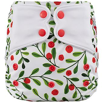 New Elfdiaper High Quality Diaper With Sewed On & Sewed In Inserts