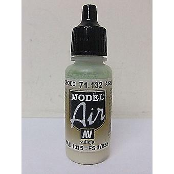 Vallejo Model Air 132 Aged White - 17ml Acrylic Airbrush Paint