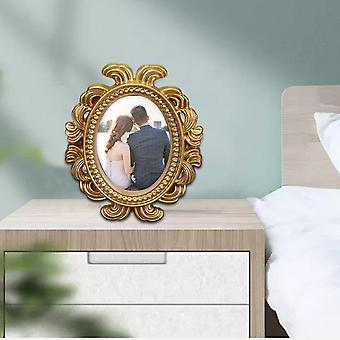 Hollow Design Oval Photo Frame Picture Holder Wedding Home Decor Gift Valentine's Day Party Decoration Supplies