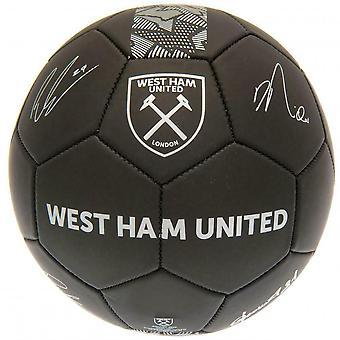 West Ham United FC Phantom Signature jalka pallo