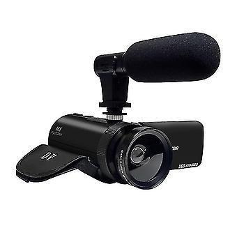 Videokamera s mikrofonem videosky fhd 1080p 16mp vlogging youtube kamery 16x digitální