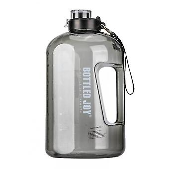 Venalisa Zeitmarker und Stroh 2,5l Wasserflasche für Camping Workouts und Outdoor