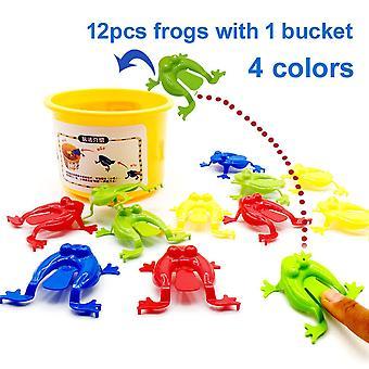 13個の跳躍カエルの飛躍カエルゲーム子供のおもちゃ