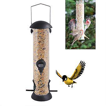Outdoor hangende vogel feeder voor buiten balkon, automatische huisdier vogel feeder voor kleine vogels (c)