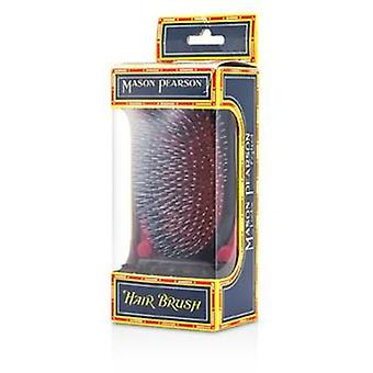 Mason Pearson Boar Bristle & Nylon - Popular Military Bristle & Nylon Large Size Hair Brush (dark Ruby) - 1pc