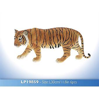 Hand Painted Tiger Figurine