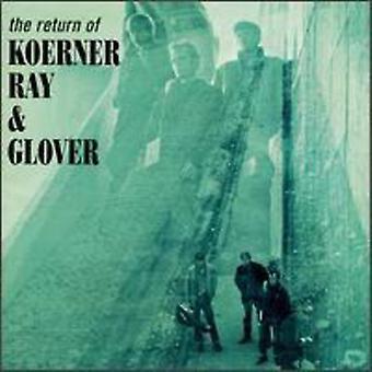 Koerner/Ray/Glover - återlämnande av Koerner Ray & Glover [CD] USA import