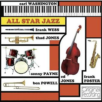 Earl Washington - All Star Jazz [CD] USA import