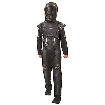 K-2SO Droide Star Wars Original Sicherheitsdroide Kinder Kinderkostüm