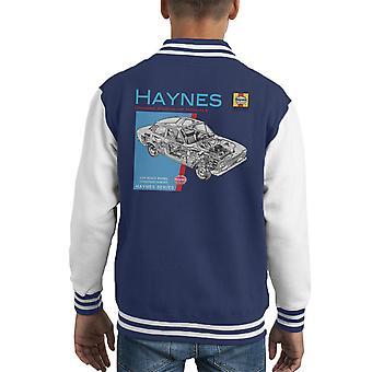 Haynes Owners Workshop Manual 0171 Ford Escort 1300 Kid's Varsity Jacket