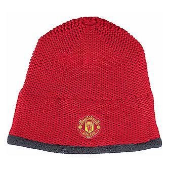 ADIDAS Manchester United Stickad mössa [röd]