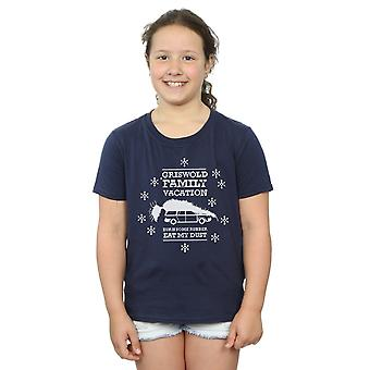 National Lampoon's Christmas Vacation Girls Eat My Dust T-Shirt