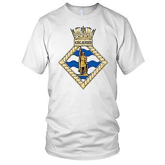 Royal Navy HMS King Alfred Ladies T skjorte