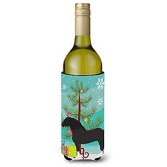 Pomeranian Rogener Goose Christmas Wine Bottle Beverge Insulator Hugger