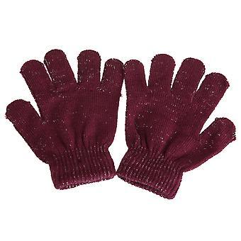 Childrens/Kids Sparkle Winter Gloves