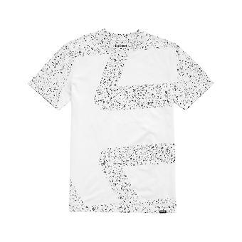 Etnies Speckle Icon Kurzarm T-Shirt in weiß