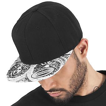 Flexfit SUN KING Snapback Cap - Black / White