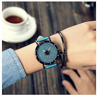 Intelligente Sparkle Glitter Blue Watch glänzend