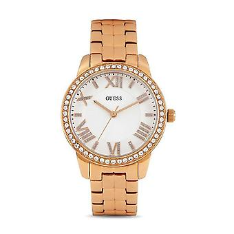 Guess Ladies Watch Rose Gold 'Mini Allure' Rose Gold Stainless Steel W0444L3