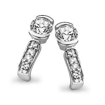 Orphelia Silver 925 Earring Zirconium   ZO-5117