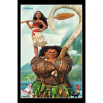 Moana - Pose Poster Print