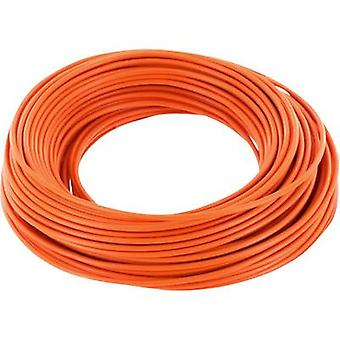 BELI-BECO D 105/10-OG Jumper wire 1 x 0.20 mm² Orange 10 m
