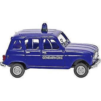 Wiking 0224 04 H0 Renault R4 GENDARMERIE