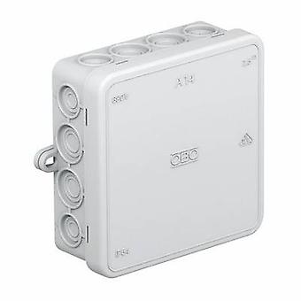 OBO Bettermann 2000378-G Junction box (L x W x H) 100 x 100 x 40 mm Grey-white (RAL 7035) IP55 1 pc(s)