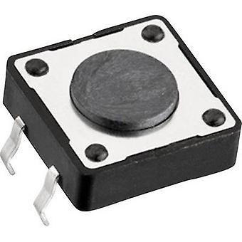 Würth Elektronik WS-TSW 430456043736 Druckknopf 12 V DC 0.05 A 1 x Off/(On) momentan 1 Stk.(s)