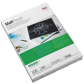Foglio laminato GBC A4 125 micron opaco 100 pc(s)