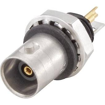 Rosenberger 51K553-200N5 139824 BNC connector Socket, vertical vertical 50 Ω 1 pc(s)