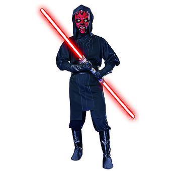 Darth Maul kostyme satt Star Wars for menn 4 stykke
