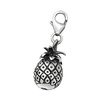 Pineapple - 925 Sterling Silver Charms With Lobster - W28887x
