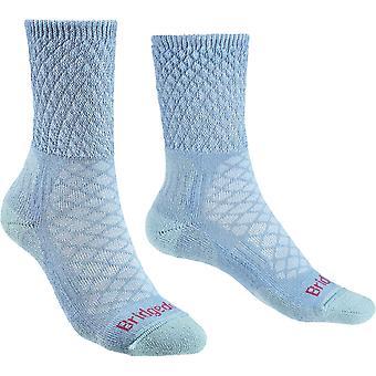 Bridgedale Womens wandeling lichtgewicht merinoswol Walking sokken
