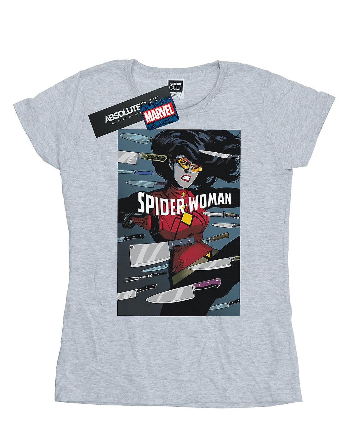 Marvel Women's Spider-Woman Fight T-Shirt