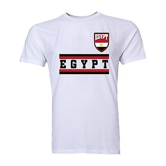Egypte Core voetbal land T-Shirt (wit)