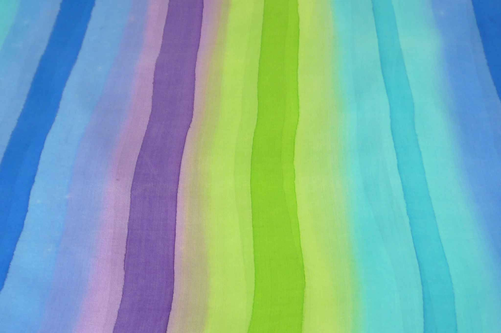 Mulberry Silk Classic Long Scarf Char Rainbow Palette by Pashmina & Silk