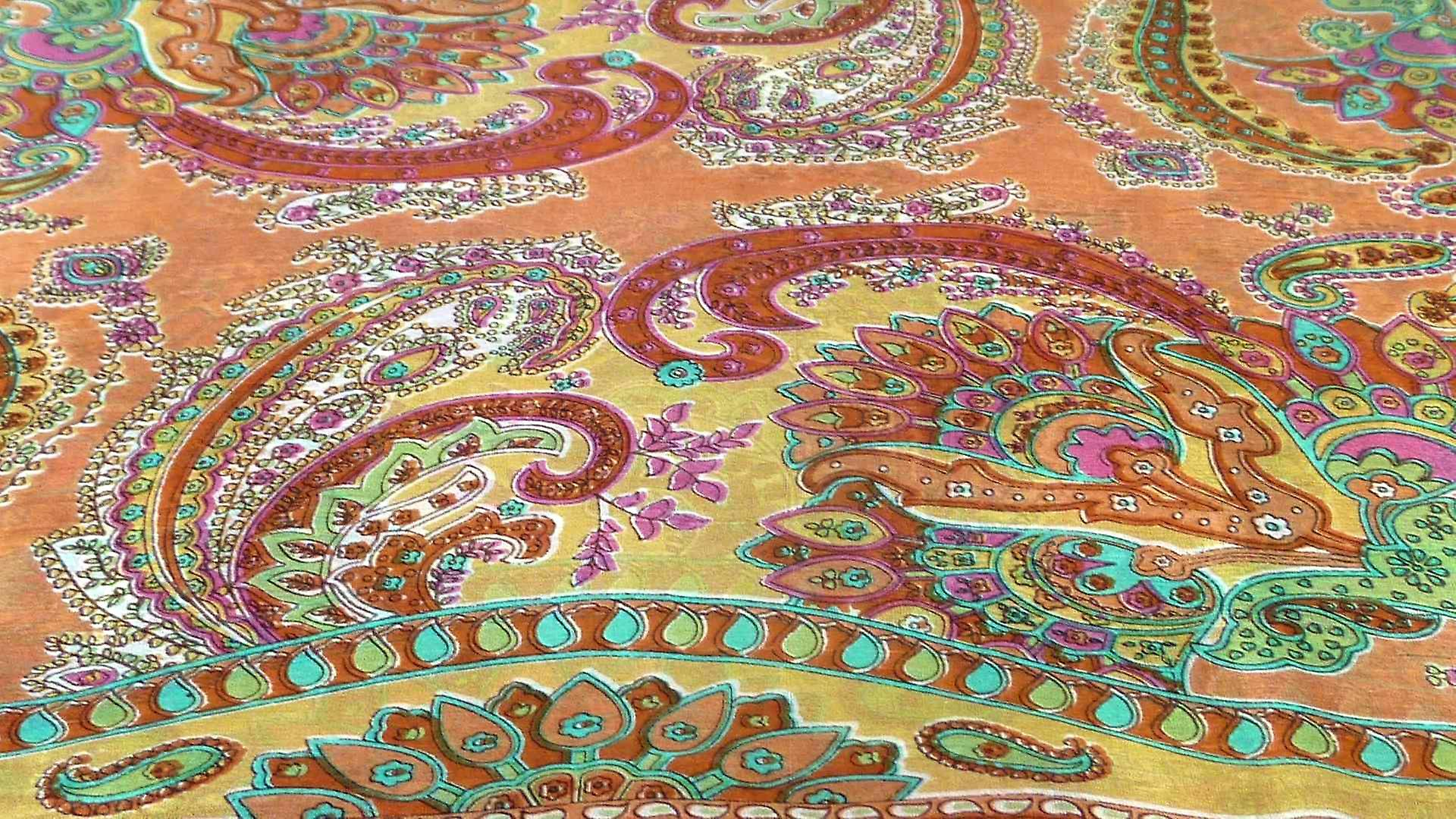 Mulberry Silk Traditional Long Scarf Shipra Copper by Pashmina & Silk
