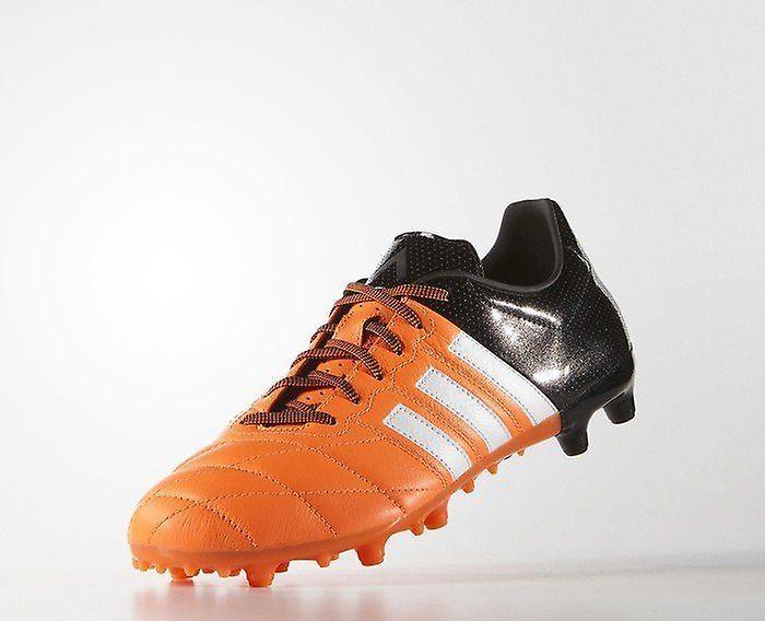 Adidas Ace 15.3 FG/AG läder B32812 Mens fotboll stövlar