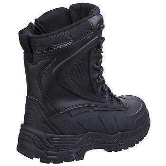 Amblers безопасности Mens AS440 гибридной металла бесплатно привет нога водонепроницаемый безопасности загрузки