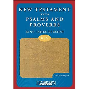 New Testament with Psalms and Proverbs: King James Version