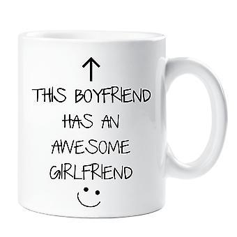 This Boyfriend Has An Awesome Girlfriend Mug