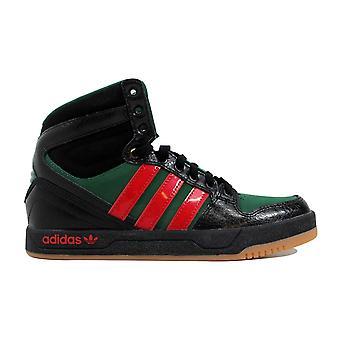 Adidas Court Attitude J Black/Red-Green Q32951 Grade-School